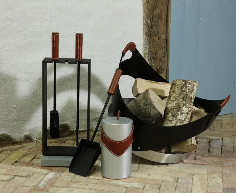 Leather handle option